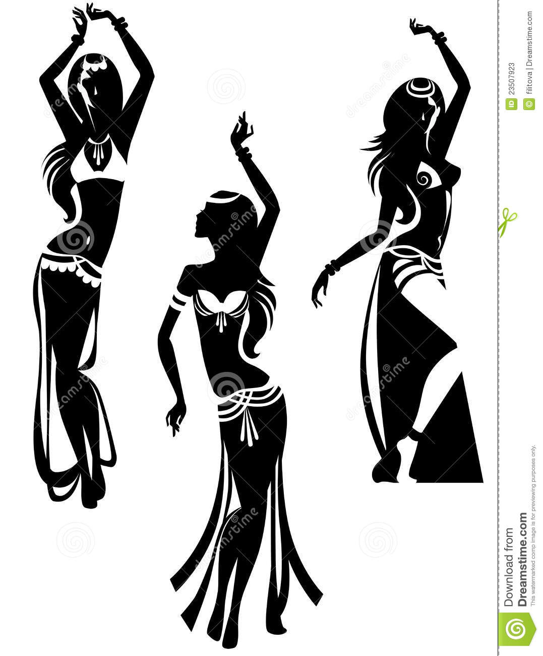 Belly Dance Stock Photos.