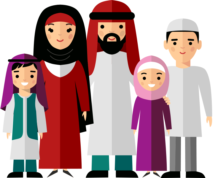 Family Illustrationtransparent png image & clipart free download.
