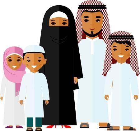 1,331 Arab Family Cliparts, Stock Vector And Royalty Free Arab.