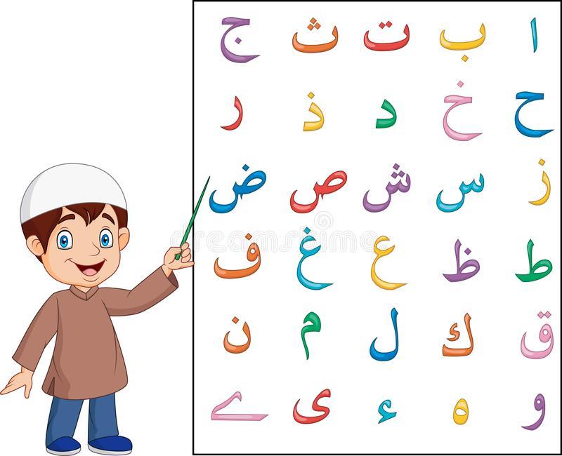 Arabic Alphabet Stock Illustrations.