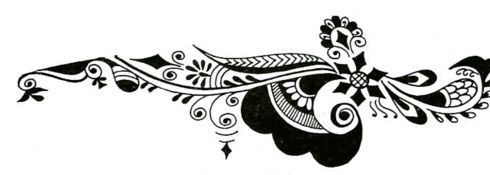 Arabic Mehndi Designs.