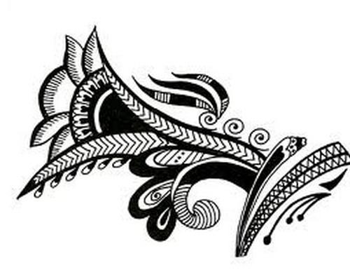 Arabic Mehndi Design3.