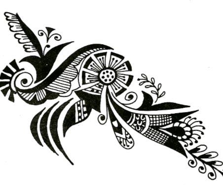 Mehndi Design Clipart Png.