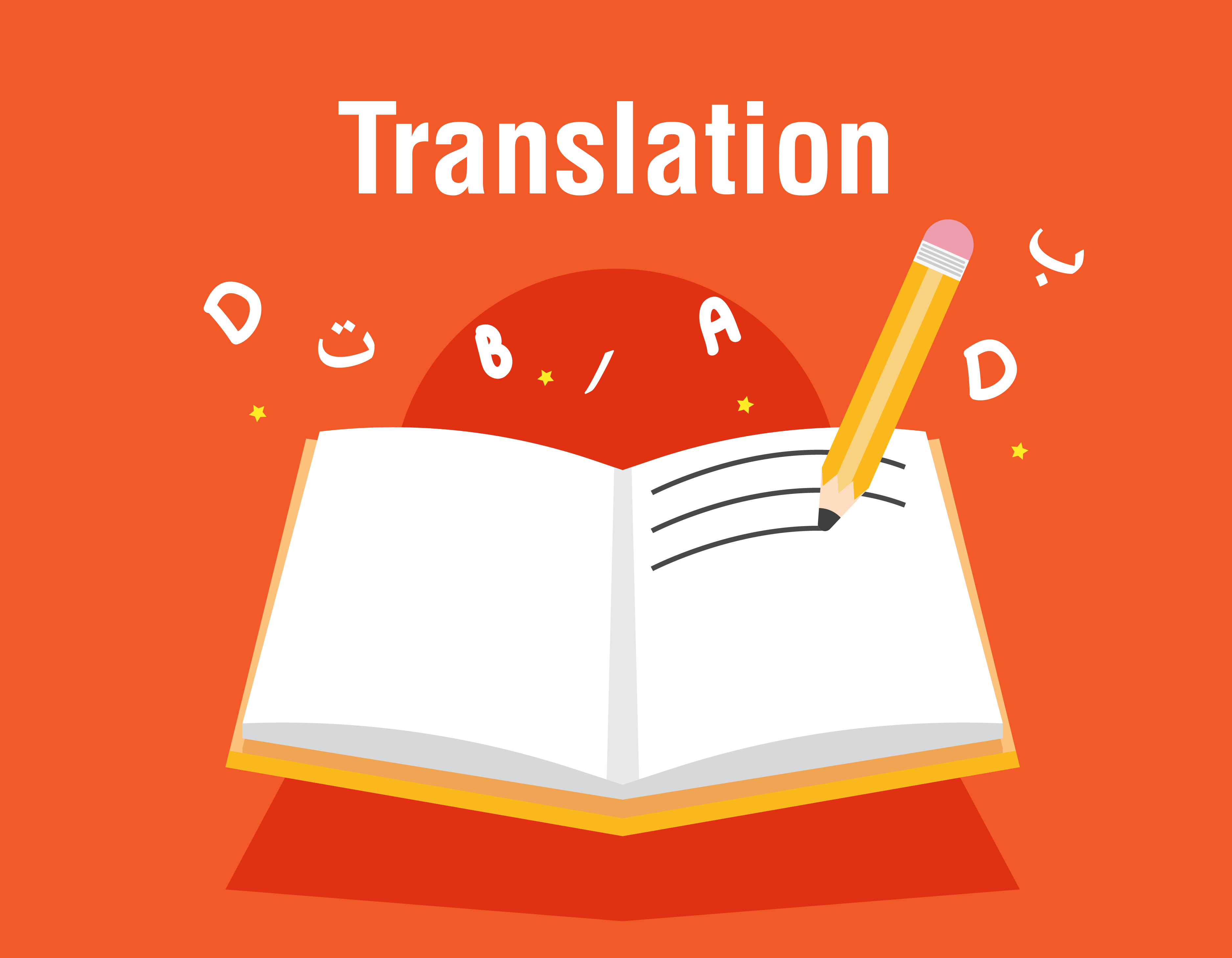 Writing and Translation Translator (English.