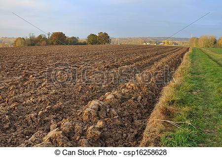 Stock Photo of agricultural land.