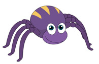 Free Arachnid Clipart.