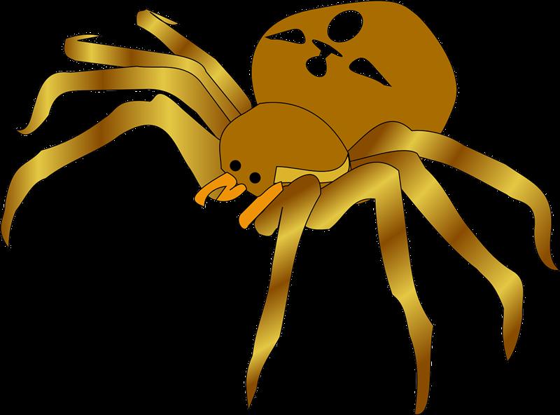 Free to Use & Public Domain Arachnids Clip Art.