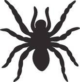 Arachnophobia Clip Art.