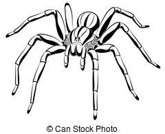 Arachnophobia Vector Clipart Royalty Free. 642 Arachnophobia clip.