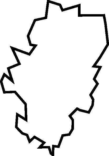 Outline Of Aragon Clip Art at Clker.com.