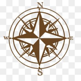 Compass rose Simbol arah mata angin Clip art.