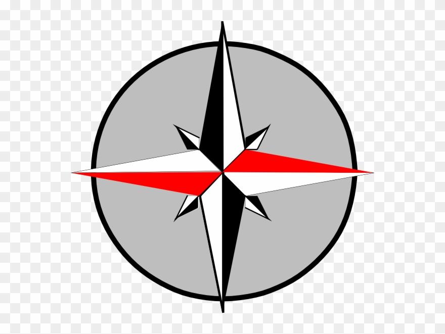 Png Logo Arah Mata Angin Clipart.