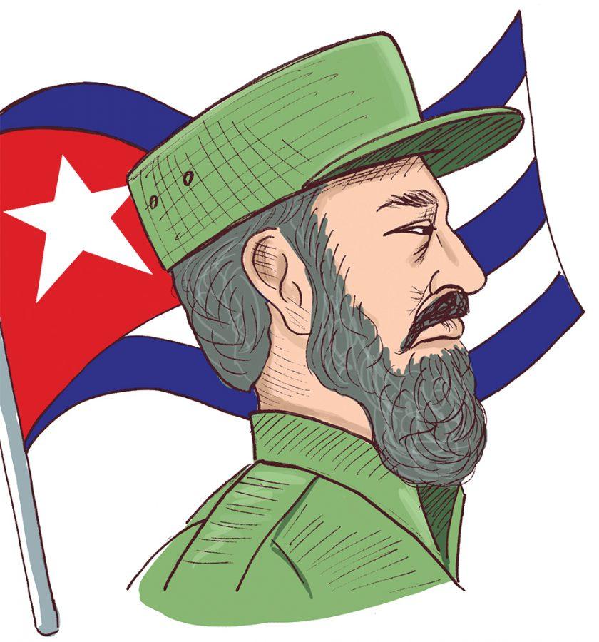 Cuban Dictator Clip Art.