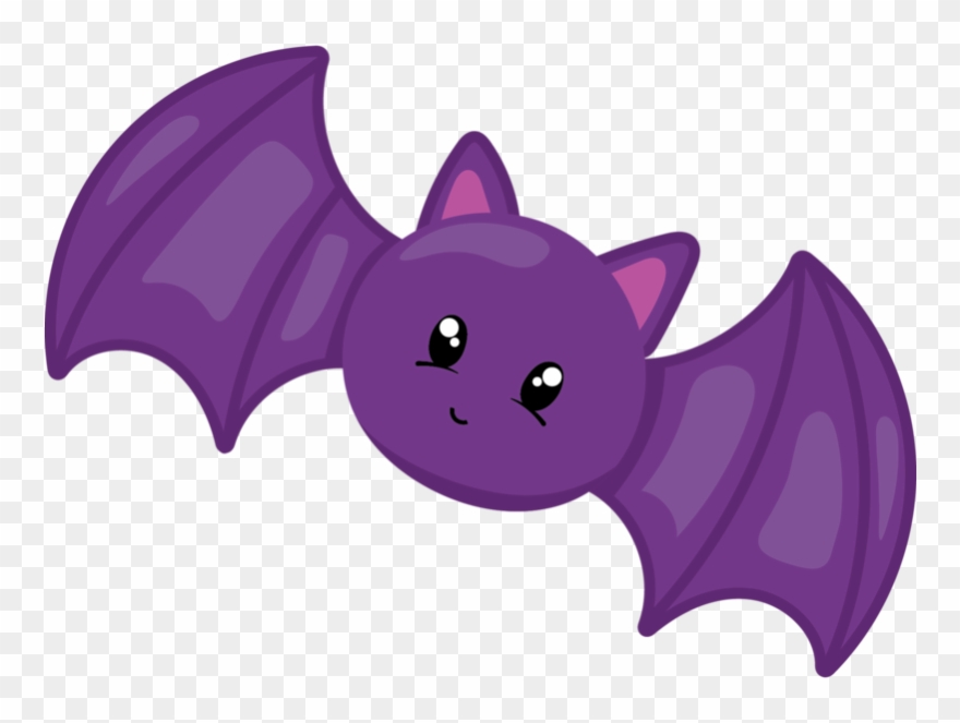 Bat clipart purple bat Transparent pictures on F.