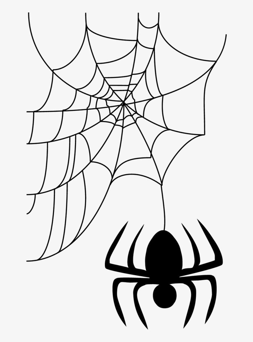 Halloween Spider Web Png Image Background.