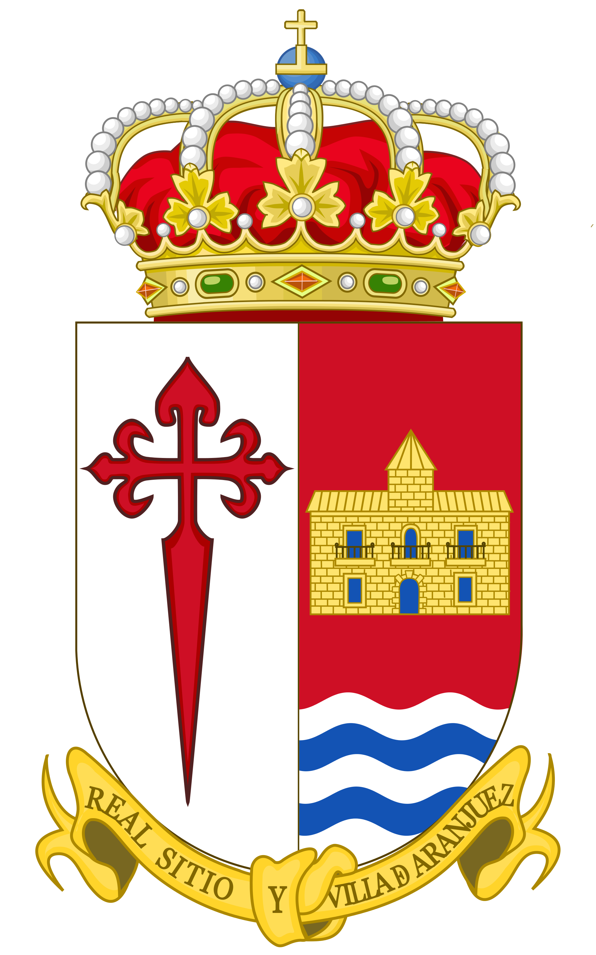 File:Coat of Arms of Aranjuez.svg.