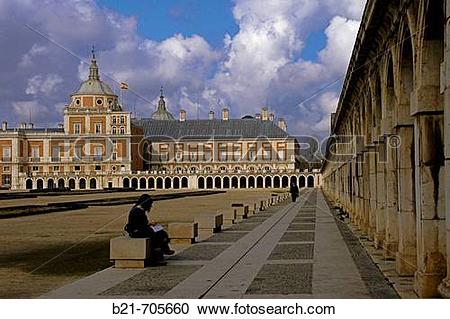 Stock Photography of Spain_Madrid_ Royal Palace of Aranjuez. b21.