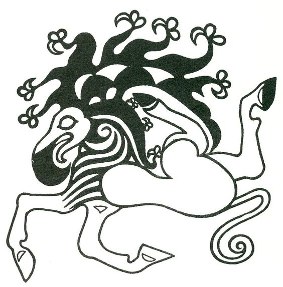 This is another of my Scythian tattoos.