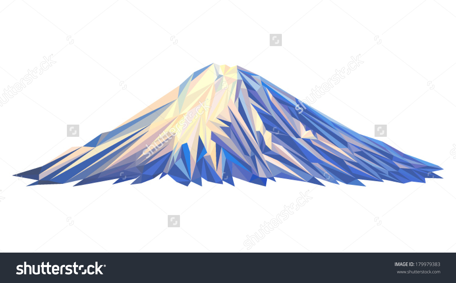 Vector Mount Little Ararat Illustration Many Stock Vector.