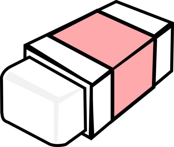 Picture of eraser clipart.