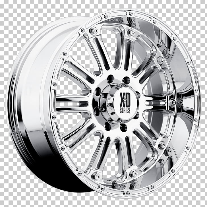 Alloy wheel Spoke ARB American Racing, Chrome Plating PNG.