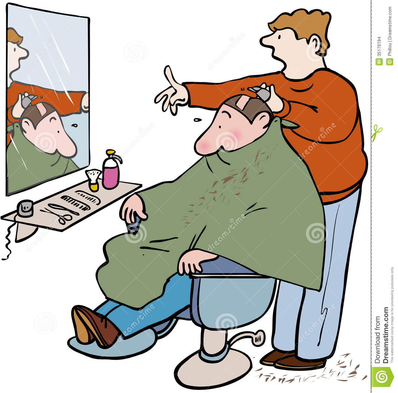 Barber Clipart Page 1.