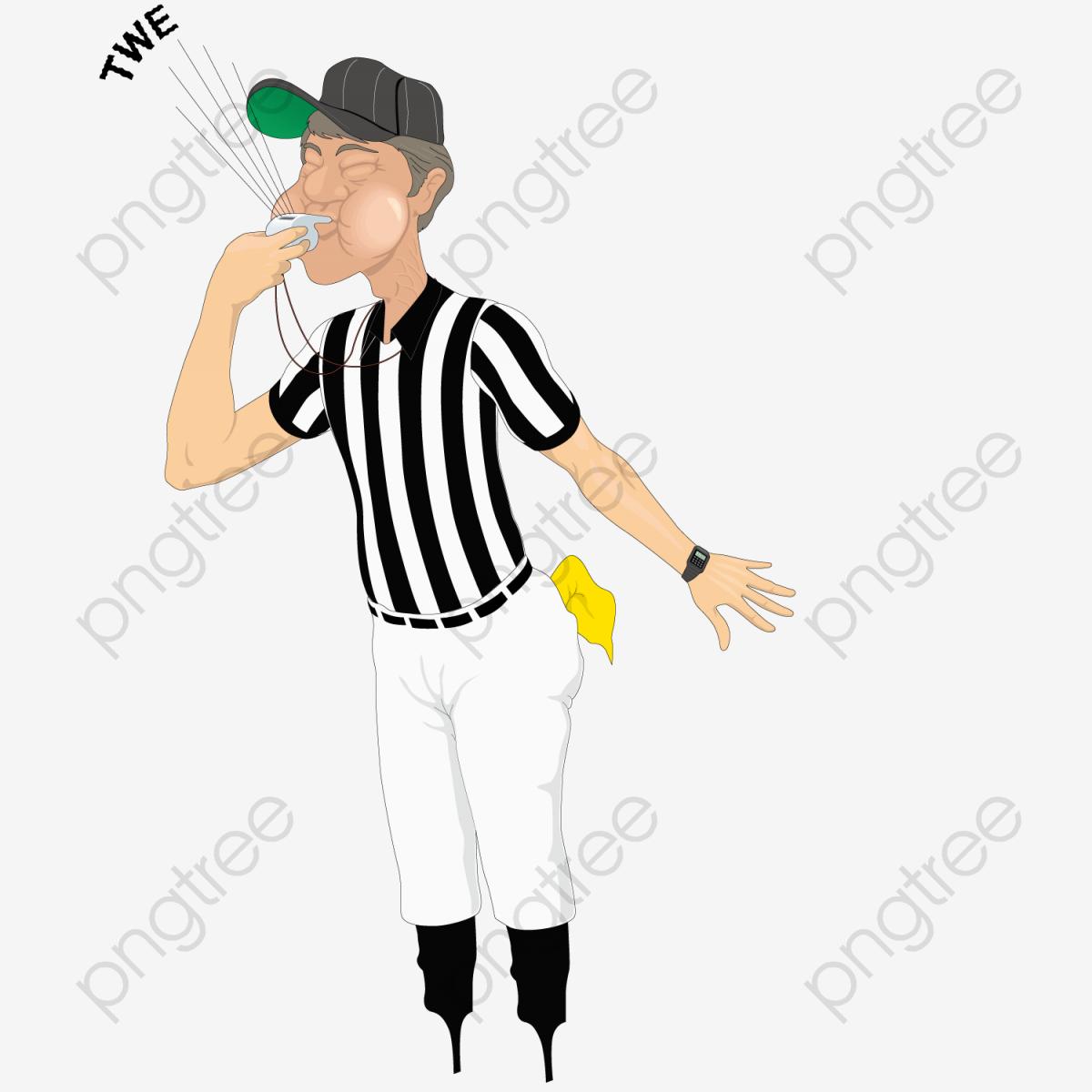 O Apito Do árbitro, O Apito, O árbitro, Futebol PNG e vetor para.