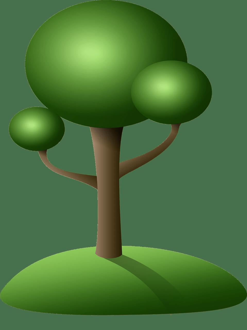 Tree Clipart transparent PNG.
