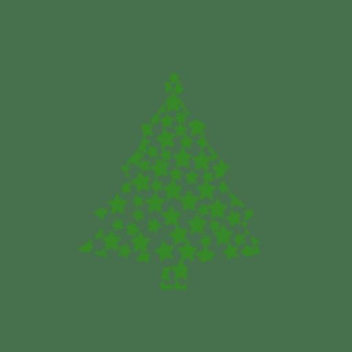 Arbol de navidad estrellas.