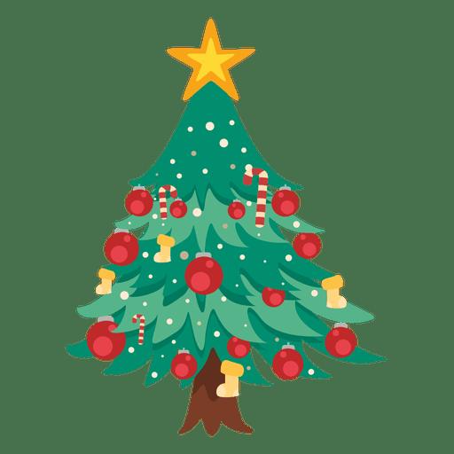 Icono de arbol de navidad.
