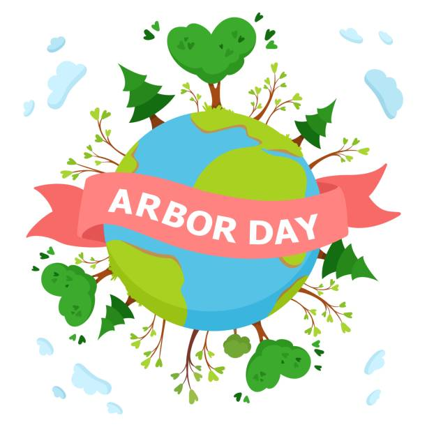 Best Arbor Day Illustrations, Royalty.