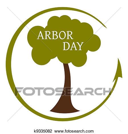 Arbor Day Icon Clipart.