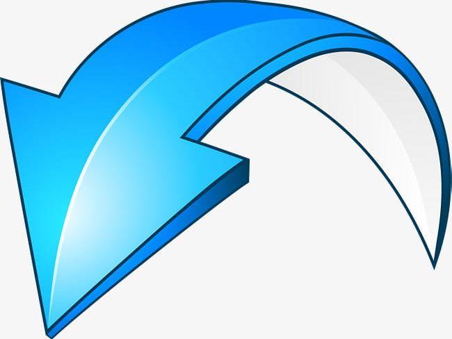 Blue Curved Arrows PNG, Clipart, Arc, Arrow, Arrows Clipart.