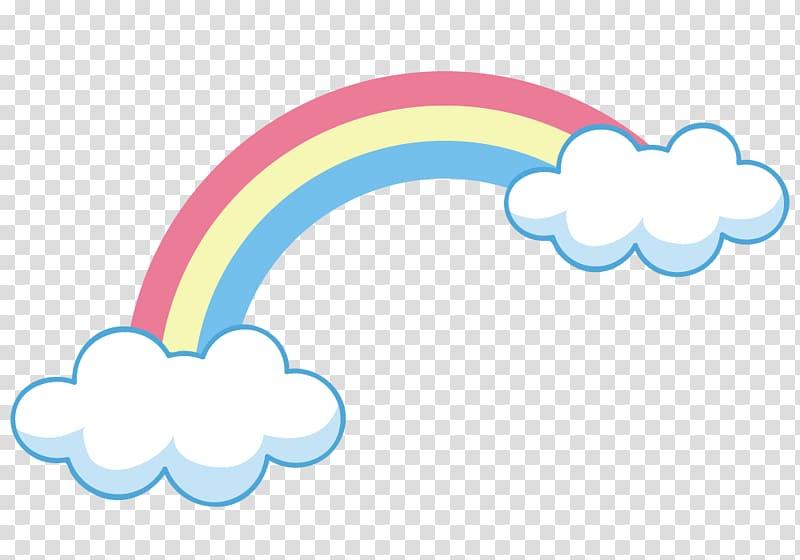 Sky Rainbow Cloud Arc Euclidean , Rainbow on clouds.