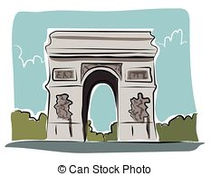 Arc de triomphe Stock Illustration Images. 243 Arc de triomphe.