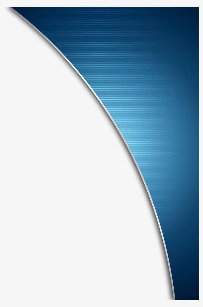 Decorative Blue Background Curved, Vector Blue, Decorative.