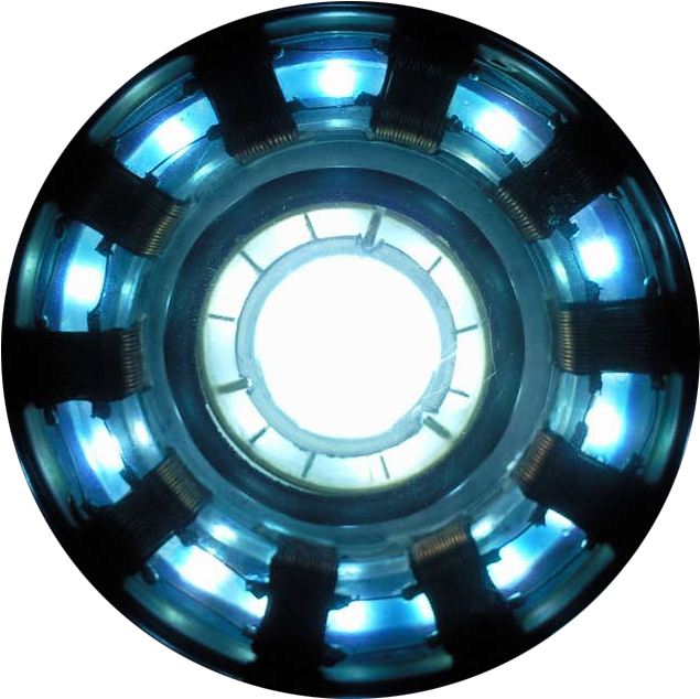 HD Reactor Arc Iron Man , Png Download.