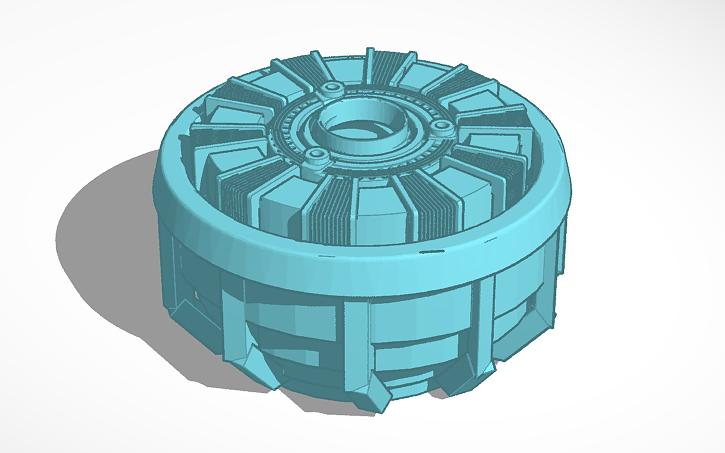 3D design Arc Reactor.