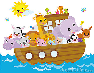 Noahs Ark Royalty Free Stock Image.