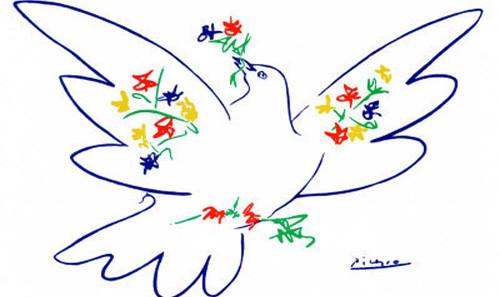 La colomba di Picasso che venne abbattuta da Stalin.