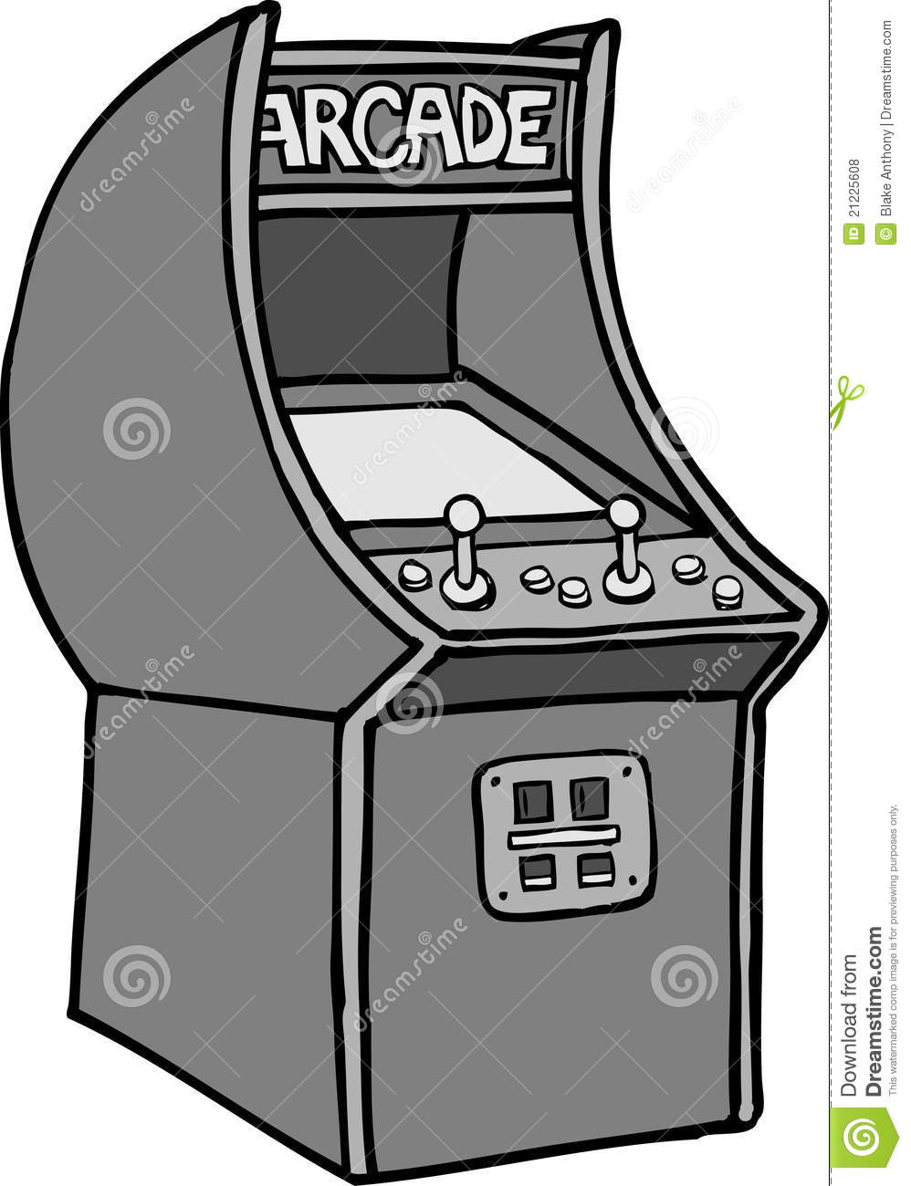 Arcade machine clipart.