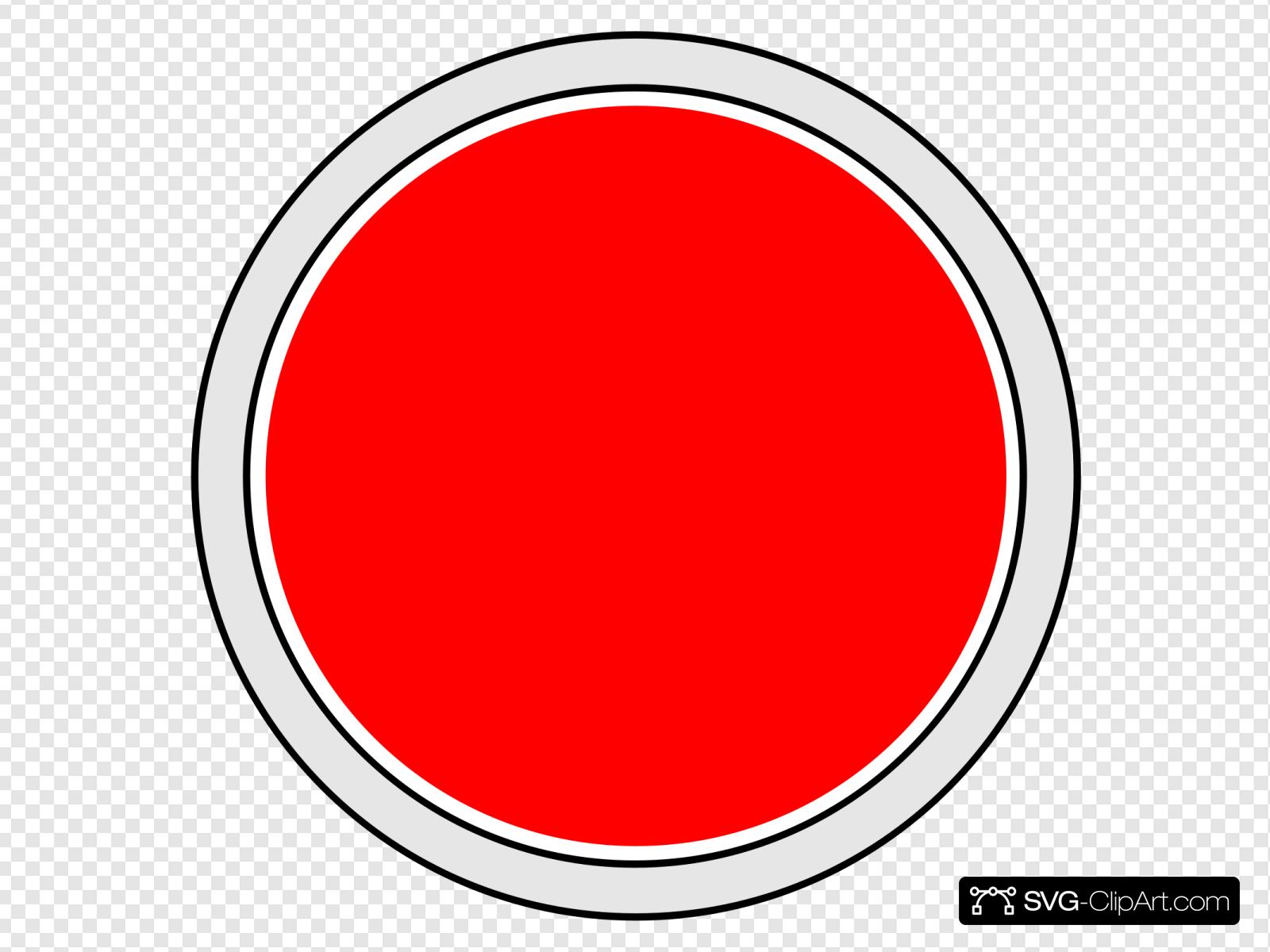 Arcade Button Clip art, Icon and SVG.