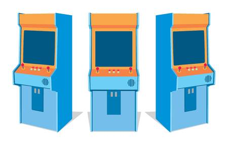 128 Arcade Cabinet Cliparts, Stock Vector And Royalty Free Arcade.