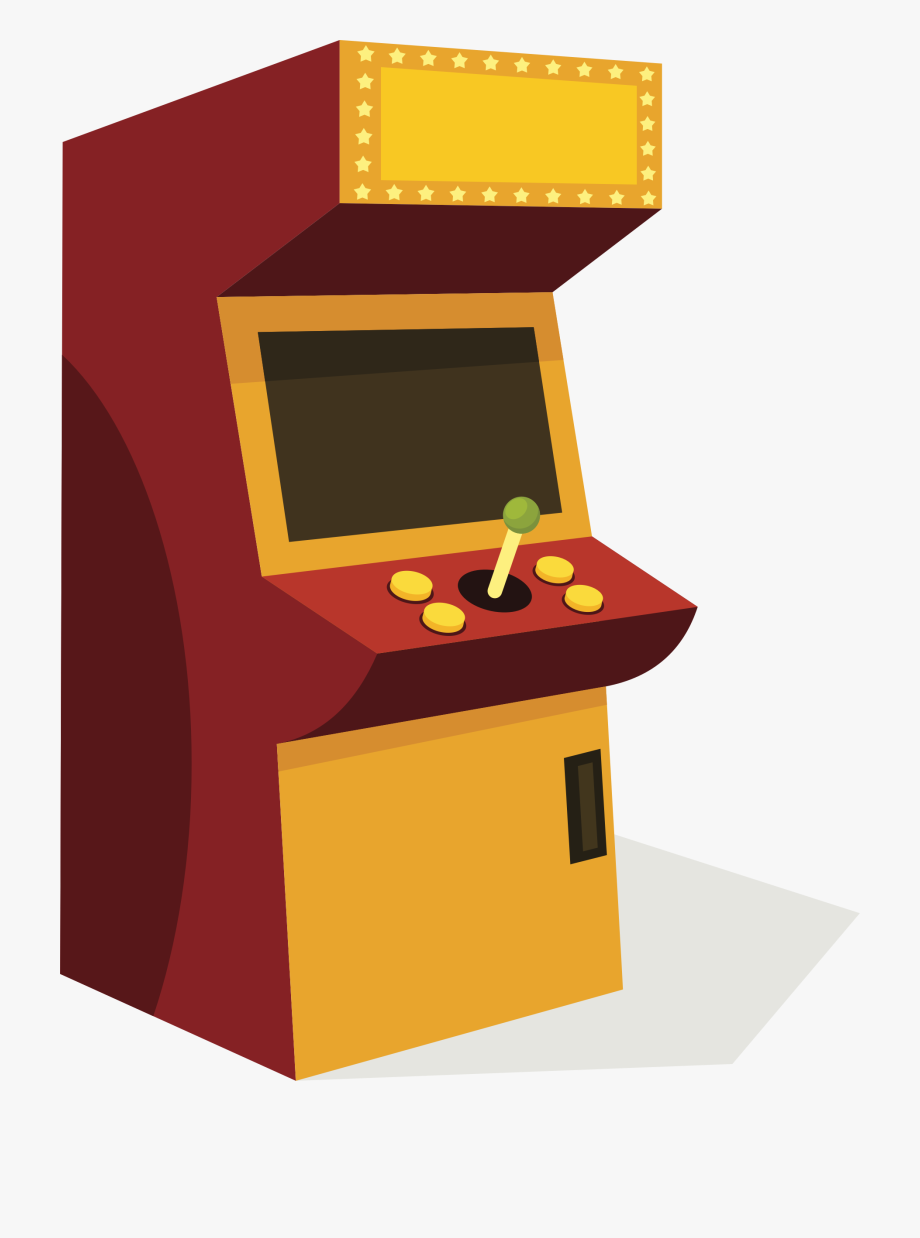 Arcade Cabinet Png.