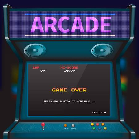 10,449 Arcade Stock Vector Illustration And Royalty Free Arcade Clipart.