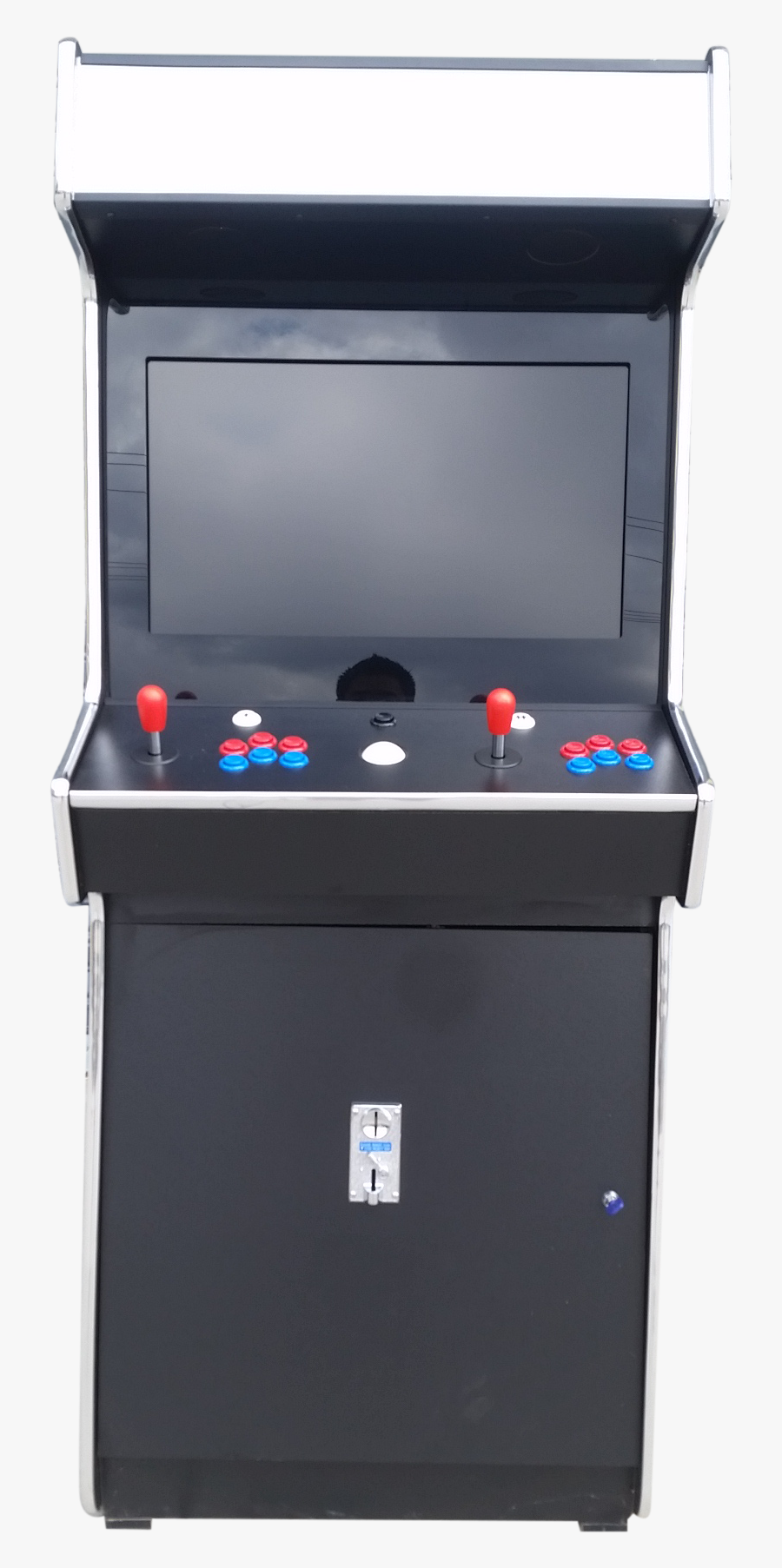 Transparent Arcade Machine Clipart.