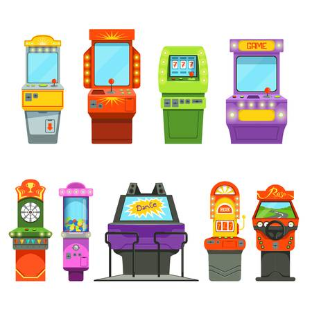 9,208 Arcade Game Stock Illustrations, Cliparts And Royalty Free.