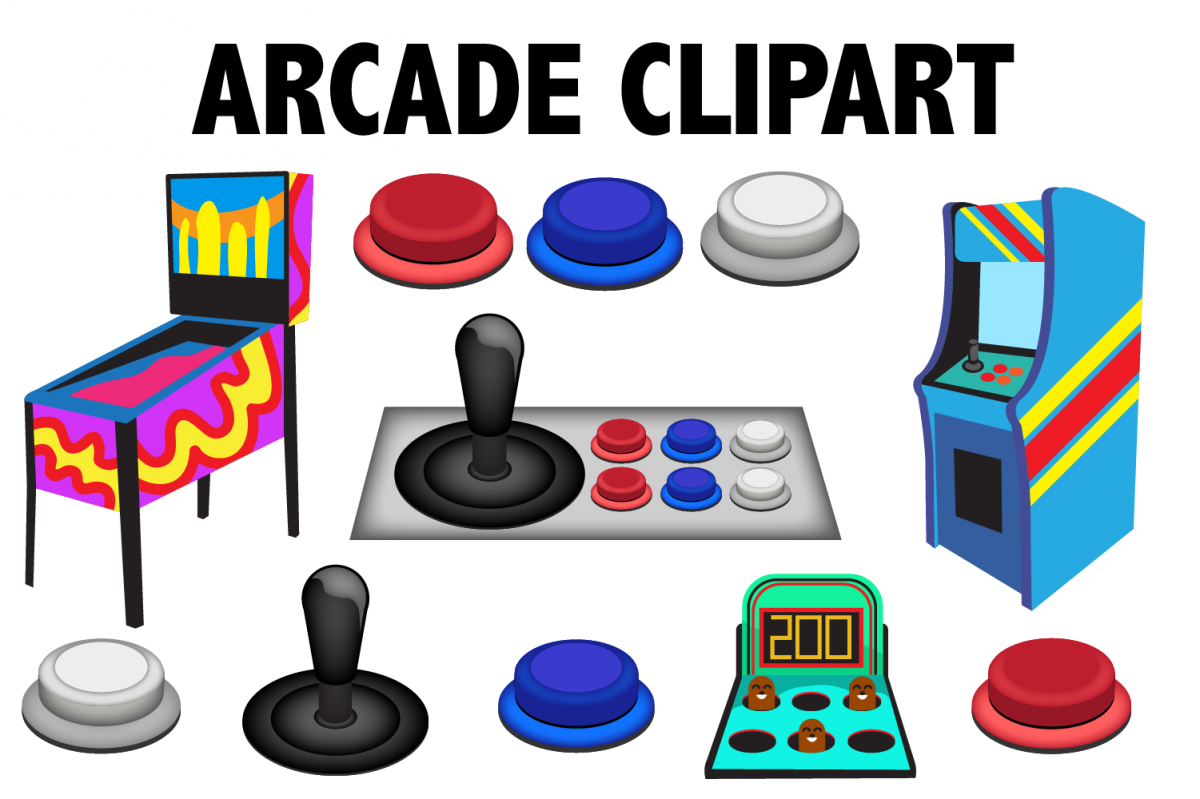 Arcade Game Clipart.