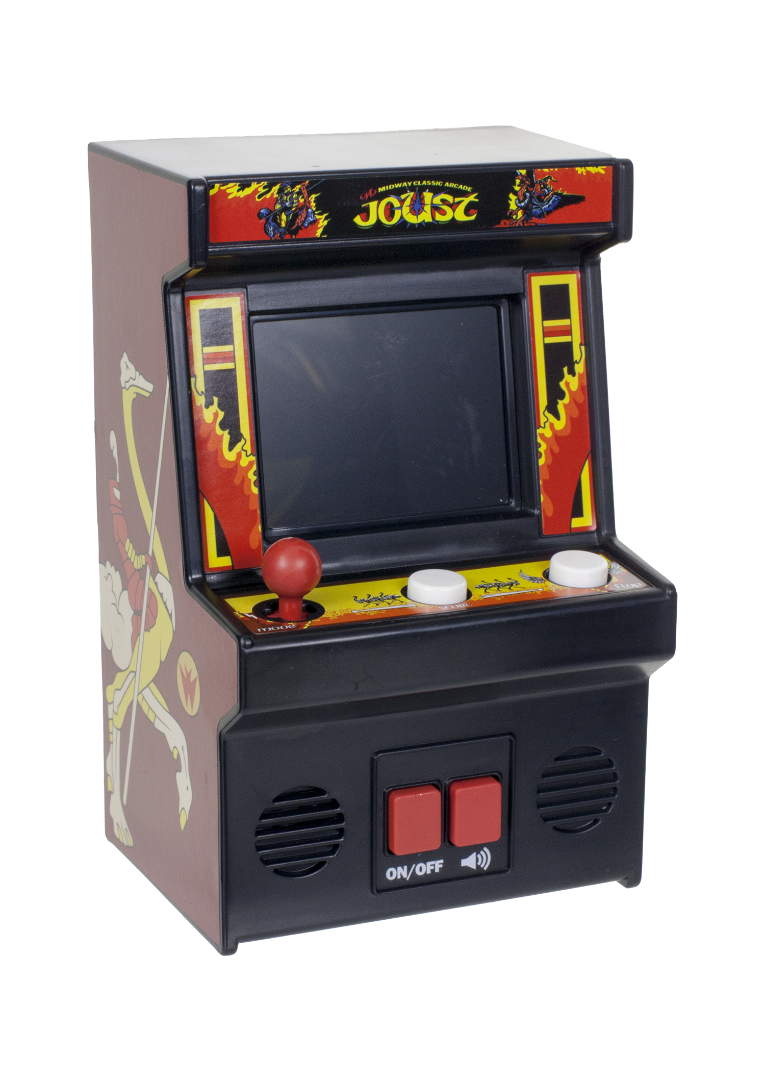 Details about New! JOUST Mini Arcade Game Classic Gaming Retro Fun 80's  Classic Xmas Gift.