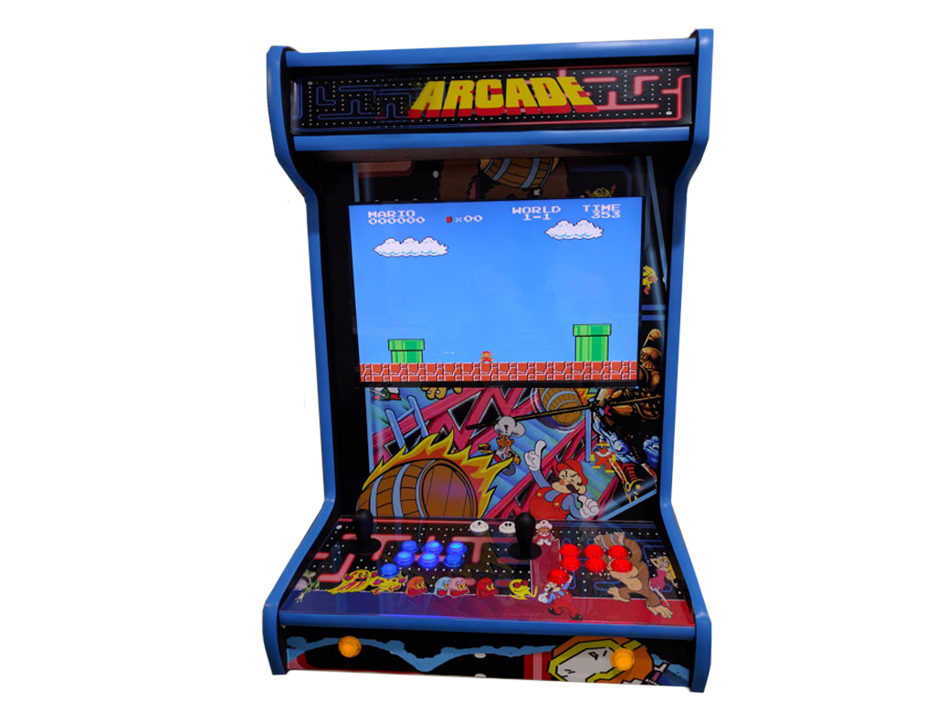 Wall Mounted Arcade Game.